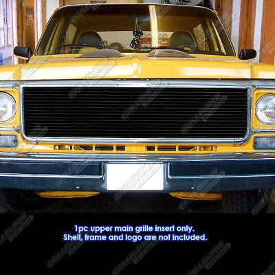 73-80 Chevy GMC Blazer/C/K Pickup/Suburban Black Billet Grille Grill Insert