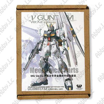 Metal Details Up Parts Set For Bandai 1 100 MG New Nu V Gundam ver Ka Model Kit