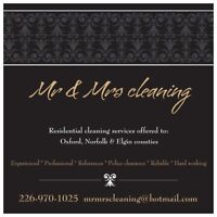 Mr & Mrs Cleaning