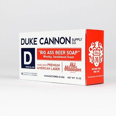 - DUKE CANNON BIG ASS BEER SOAP