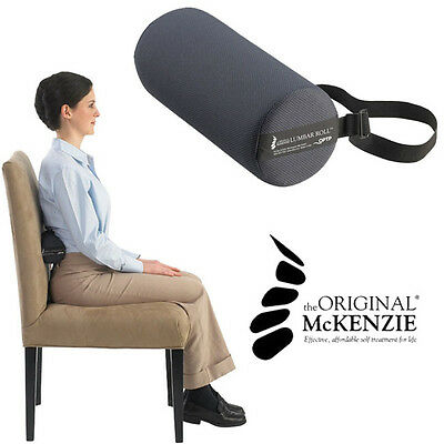 The Original Mckenzie Lumbar Roll Firm Density   Lower Back Pain Relief Therapy