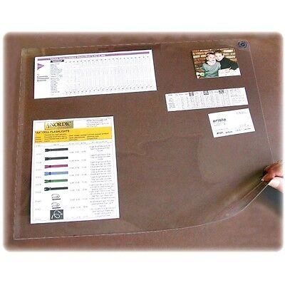 Artistic Second Sight Clear Plastic Desk Protector 36 X 20 Ea - Aopss2036