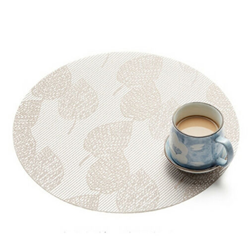 Round Place Mats For Kitchen Table Heat