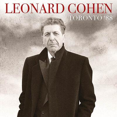 LEONARD COHEN - Toronto '88. New 2LP + sealed. **NEW**