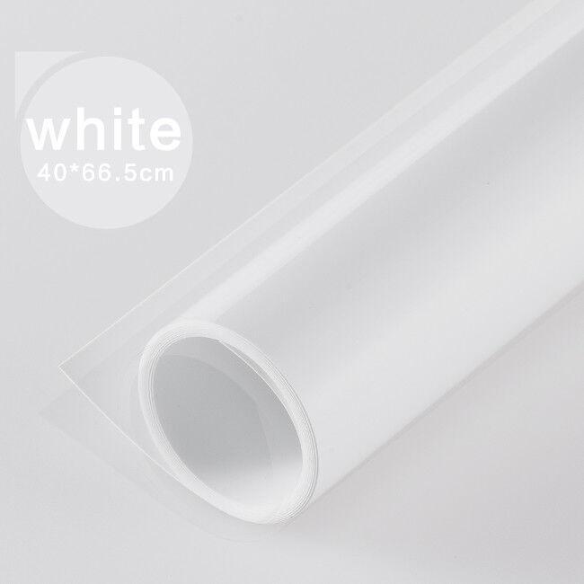 UK+Dual+Sides+PVC+Backdrops+Background+Solid+Color+Pure+White+Matt+Reflective