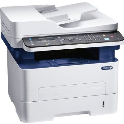 Xerox 3215/NI All-in-One Laser Office Printer BW MFC WiFi Network Scanner Fax Office Laser Printer