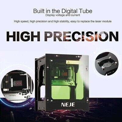 Us 3000mw Diy Desktop Mini Cnc Laser Engraver Cutter Wood Cutting Machine Router