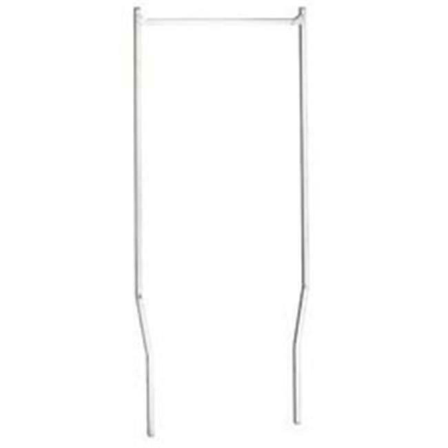 R & B Wire 55 Double Pole Rack- for 300 series carts