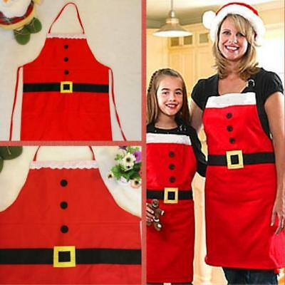 Christmas Novelty Kitchen Cooking Apron Party Xmas Fun Gift Adult Children Santa - Novelty Christmas Gifts