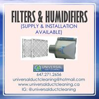 Filters & Humidifiers