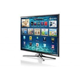 "40"" Samsung 3d Smart TV 3d Glasses included"