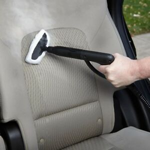 Car Upholstery Steam Cleaner Auto Detailing Carpet Leather Cloth Seats Steamers