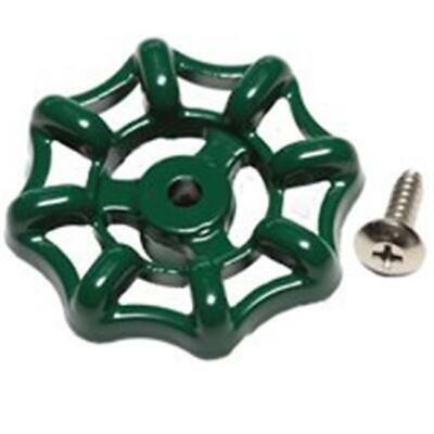 Arrowhead Brass PK1250 Green Wheel Handle & Screw