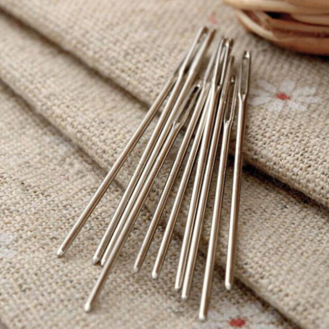 20PCS Knitters Darning Eye Wool Needles Embroidery Large Sewing For Threading
