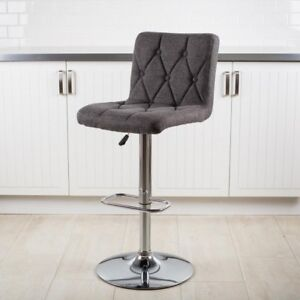 KSP Adelle Fabric Barstool (x 2 chairs)
