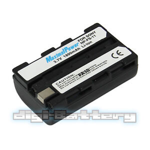 For SONY NP-FS11 1800mAh Camcorder Battery NP-F20 FS21 FS22 DSC-P1 P20 P30 P50