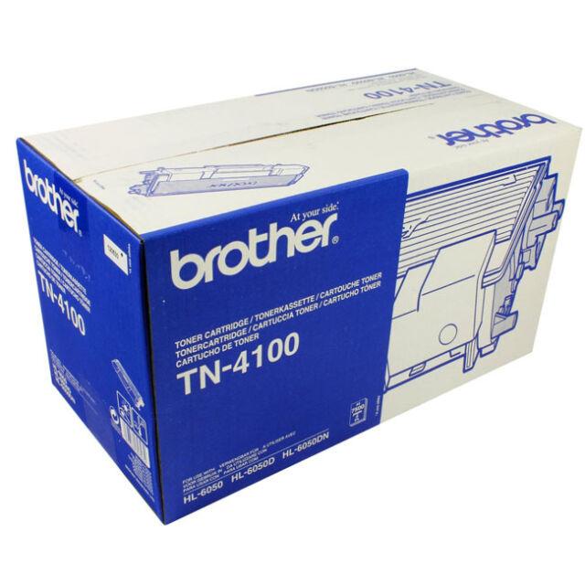 GENUINE BROTHER TN-4100 BLACK LASER PRINTER TONER CARTRIDGE FOR HL-6050 SERIES