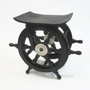 Black Ships Boat Steering Wheel Teak Wood 15