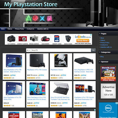 Video Game Store - Easy-to-operate Highly Profitable Business Website For Sale