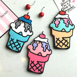 Very cute 3D Ice cream Back Phone Case for iphone 7/8,7/8+,X