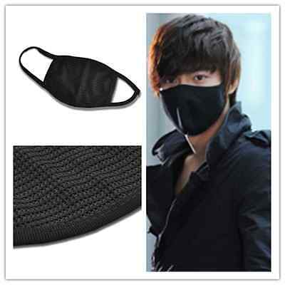 Fashion Unisex Black Health Cycling Anti-Dust Cotton Mouth Face Mask Respirator