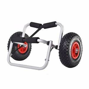 Kayak Trolley Canoe Aluminium Collapsible Wheel Cart Boat Carrier Oxley Brisbane South West Preview