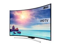 "SAMSUNG UE55KU6100 Smart 4K Ultra HD HDR 55"" Curved LED TV"