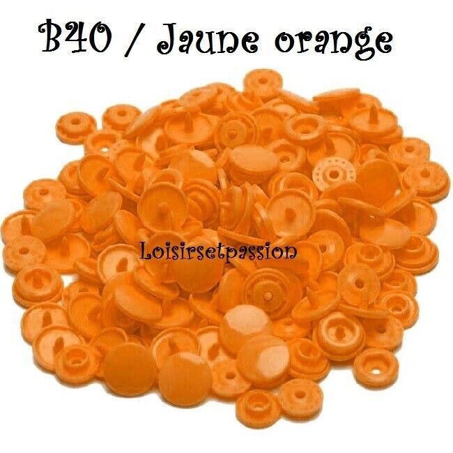 Couleur B40 / JAUNE ORANGE