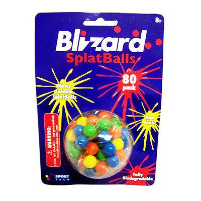 Paint Ball Refills Sport Tech Blizzard SplatBalls 80 Per Pack  (LOT OF 12 PACKS)