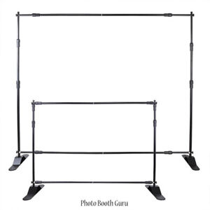 8' x 8' Banner Backdrop Stand