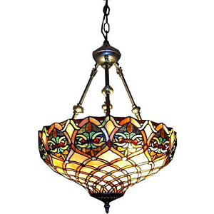 Tiffany Style Hanging Chandelier Pendant Lighting Fixture Ceiling Light