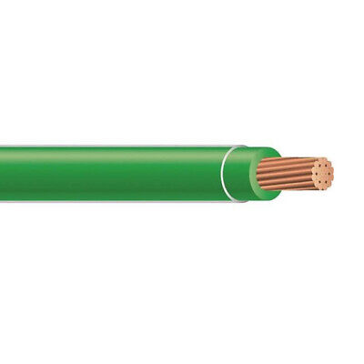 500 10 Awg Stranded Copper Xhhw-2 Wire Xlpe Insulation Cable Green 600v