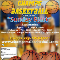 Basketball !Fun! - CHAMPS BASKETBALL Program