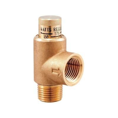 Watts LF530-C3-4 0.75 in. Lead Free Brass MPT Expansion Relief Valve