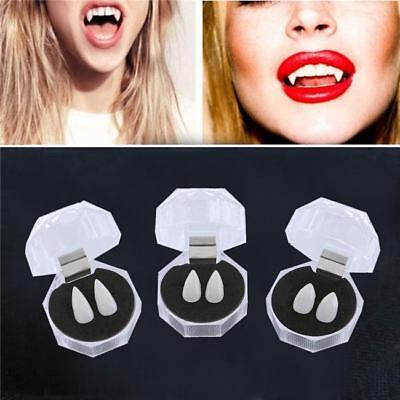 Creepy Deluxe Scarecrow Vampire Fangs Small Teeth Zombie Halloween Party Costume (Deluxe Vampire Costume)