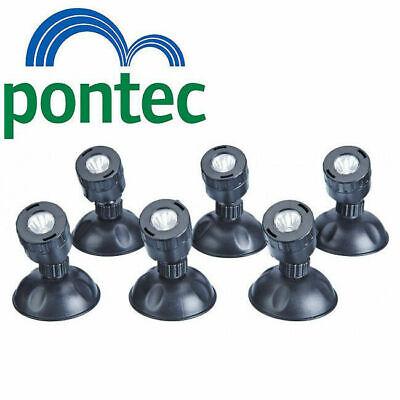 Pontec Pondostar LED Set of 6 Pond Lights