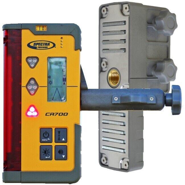 Spectra Laser Level CR700 Digital & Machine Mount w/Magnetic Mount