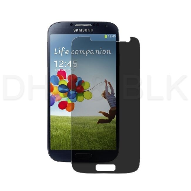 Privacy Anti Spy LCD Screen Protector Cover Guard Film for Samsung Galaxy SIV S4