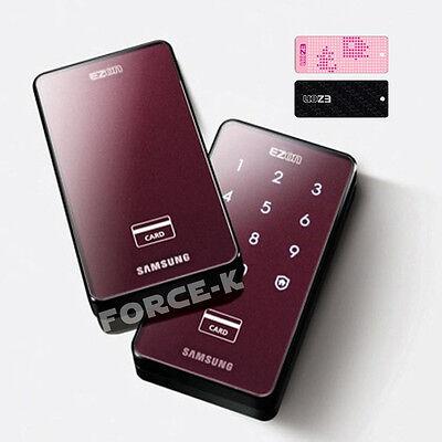 SAMSUNG EZON SHS-2421 Digital Doorlock Keyless Lock Entry Password+RF Card 2Way