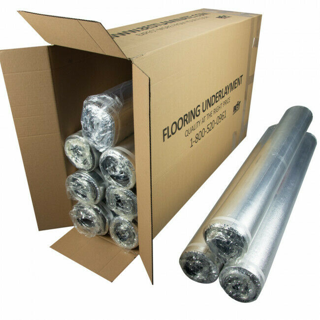 Vapor 3-in-1 Silent Moisture Barrier Underlayment 1000sf @0.165/sf (Bundle Deal)