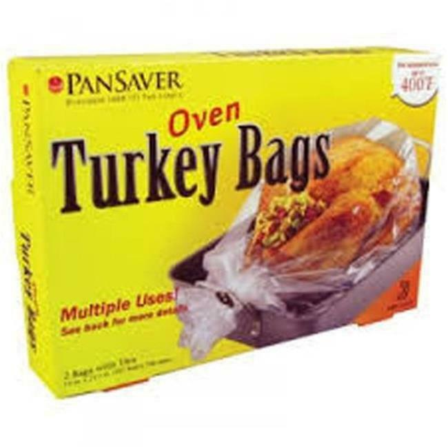 Pansaver Turkey Roasting Bags - 36 per case.