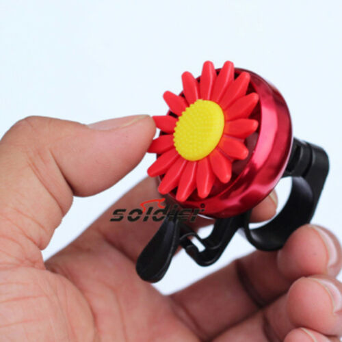 Kids Bell Bicycle Horns Sports Bike Flower Power Girl Child Ride Loud Ring DB