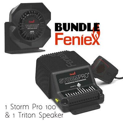 Feniex Storm Pro 100 Watt Remote Siren With Feniex Triton Speaker