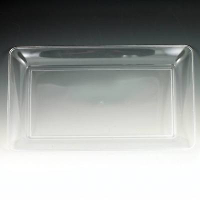 Clear Plastic Serving Tray Clear 18