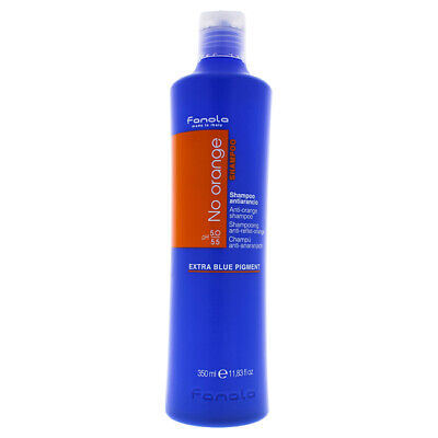 No Orange Shampoo by Fanola for Unisex - 11.8 oz Shampoo