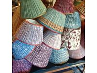 looking for a seamstress to make pleated lampshades. part time