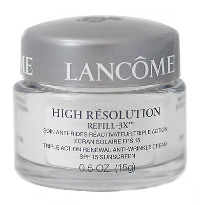 Lancome Triple Action Renewal Anti-Wrinkle Cream SPF 15 Sunscreen / 0.5 oz