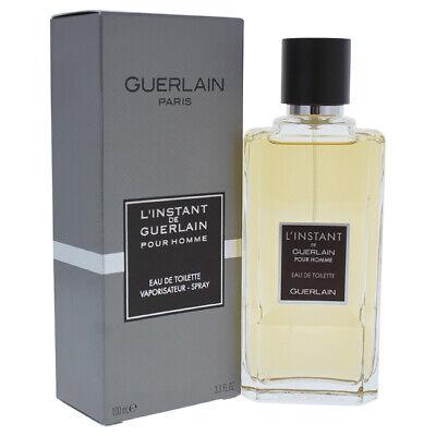 LInstant De Guerlain Pour Homme by Guerlain for Men - 3.3 oz EDT Spray ()