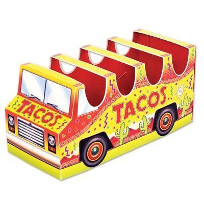 3-D Taco Holder Truck Centerpiece Fiesta Party Cinco De Mayo Decorations](Taco Party Decorations)
