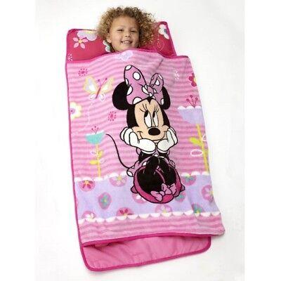Nap Mat for Toddlers Minnie Mouse Kids Girls Kindergarten Preschool Sleeping Bag